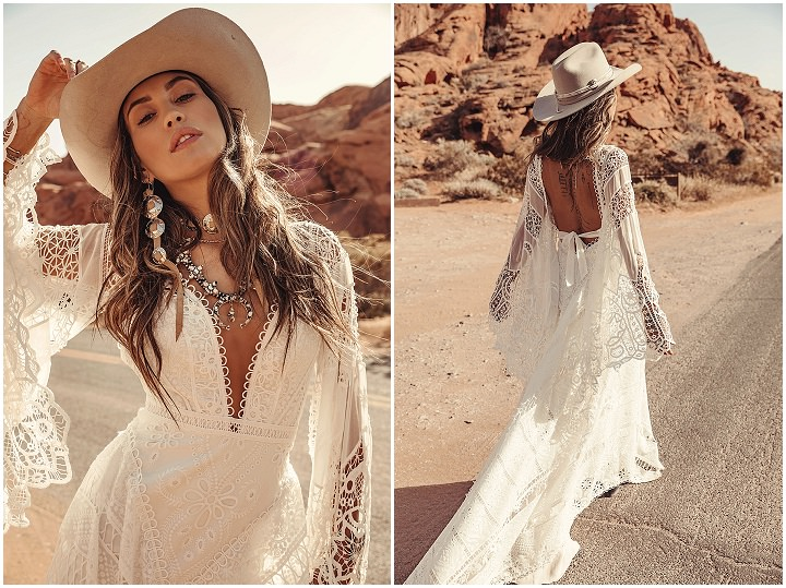 Bridal Style: 'Moonrise Canyon' The Brand New Collection from Rue De Seine is HERE!