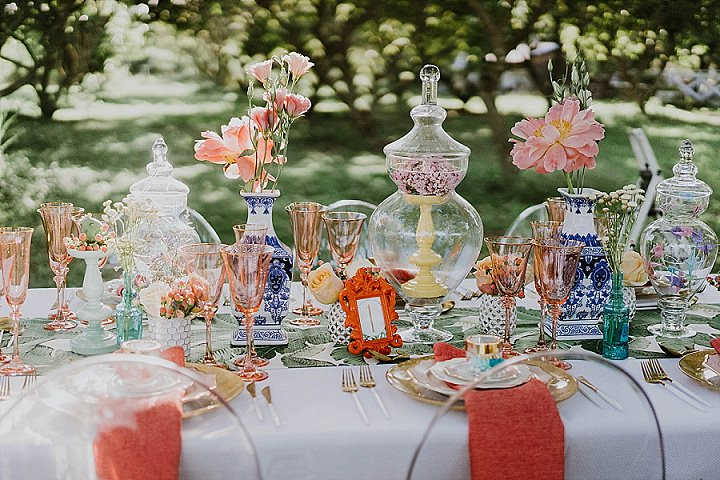 'Bursting with Colour' Vibrant, Fun Filled and Whimsical Miami Wedding Inspiration