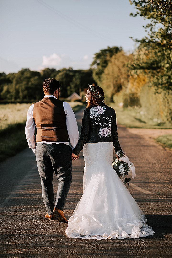 Kristina and Adam's Rustic Wild Flower Wedding in Essex by Sally Rawlins