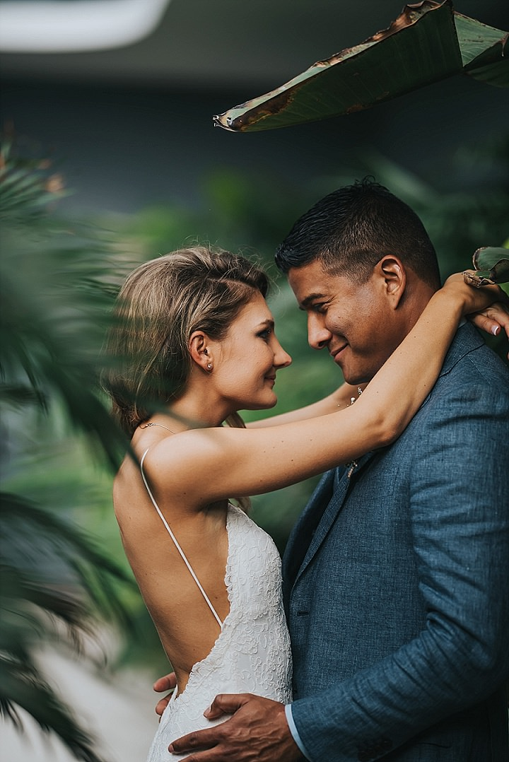 Kathryn and Shaun's Intimate Backyard Miami Wedding by Aurora Photography