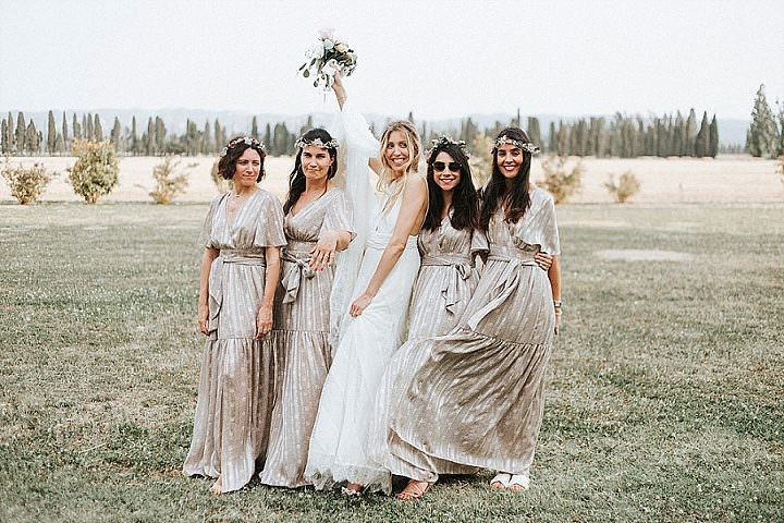 Sandra and Bruno'sDIY Rustic Chic Wedding in France With a Romantic Bohemian Twist by Marie Marry Me