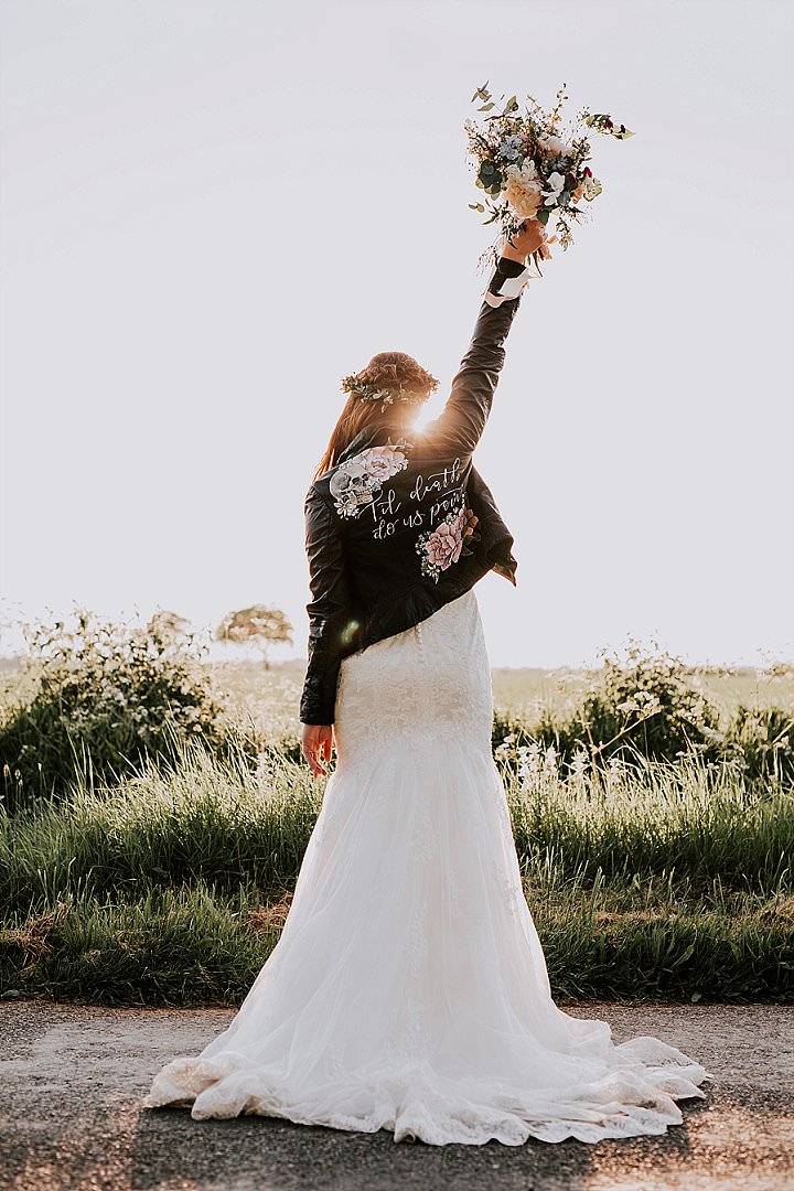 Kristina and Adam's Rustic Wild Flower Wedding in Essex by Sally Rawlins