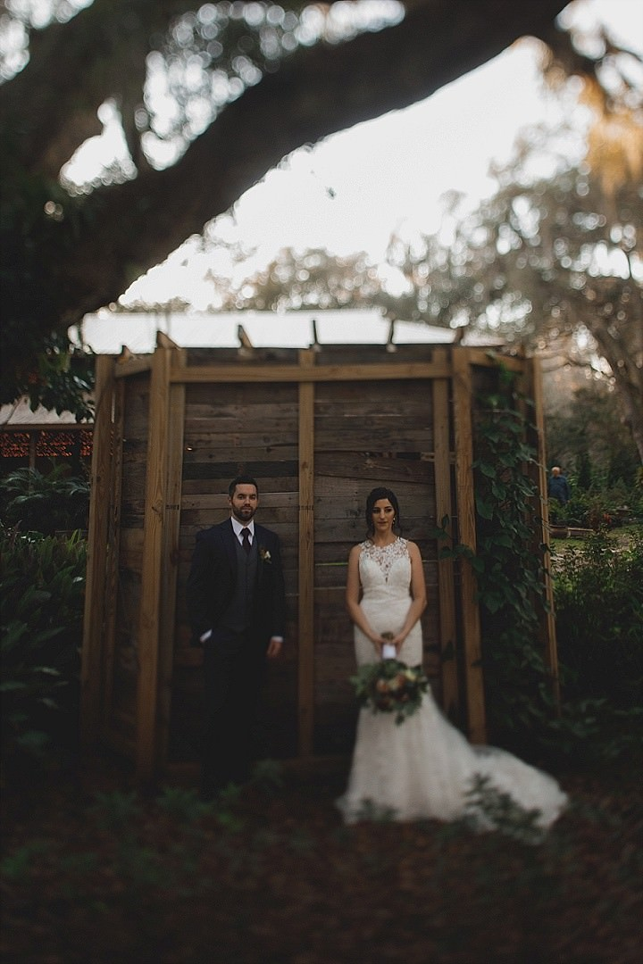 Thomas and Whitley's Elegant Cozy and Woodsy Outdoor Wedding in Florida by Stacy Paul Photography