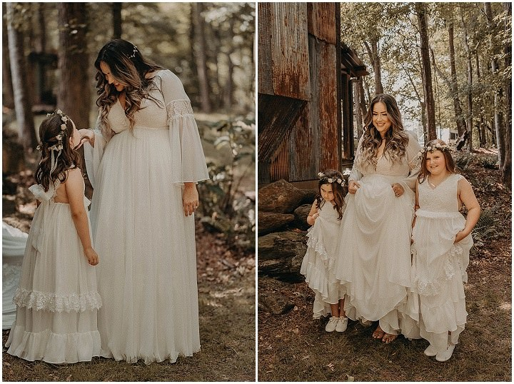 Rachel and Dillon's Earth Toned Boho Glam Wonderland Wedding by Nathalia Frykman
