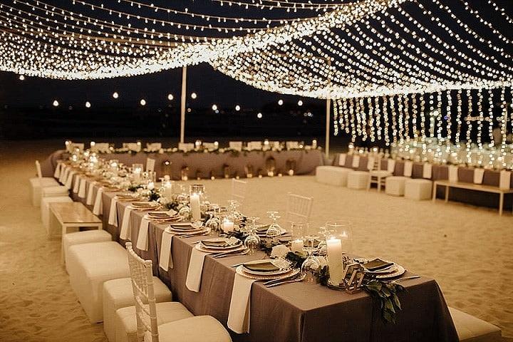 Bea and Sarah's Elegant and Chic White, Greenery and Bronze Phuket Beach Wedding by Wedding Boutique Phuket