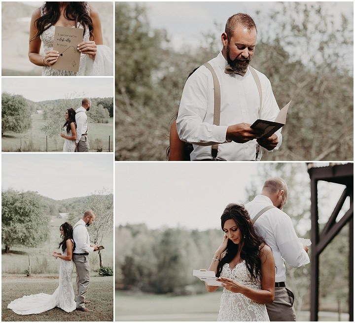Cory and Tyler 'Rustic Country' Deep South Farm Wedding by Aline Marin Photography