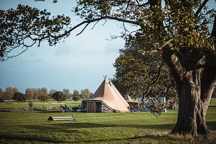 Charlotte and Daniel's Homemade Tipi Wedding in York by All You Need is Love Photography