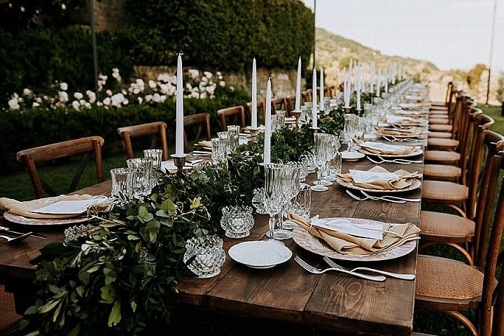 Kristin and Mark's Intimate Rustic Outdoor Tuscany Wedding by Magills Film and Photography