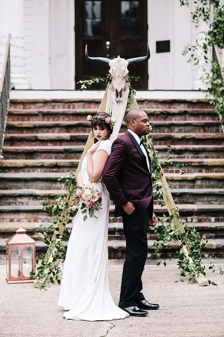 'One Wedding - 2 Couples' Modern Boho With a Southern Twist Wedding Inspiration