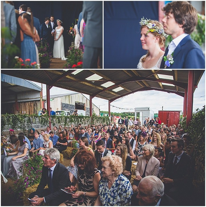 Amy and Ned's Two Weddings, Two Dresses, One Awesome Party in a Barn by Andrew George Photography