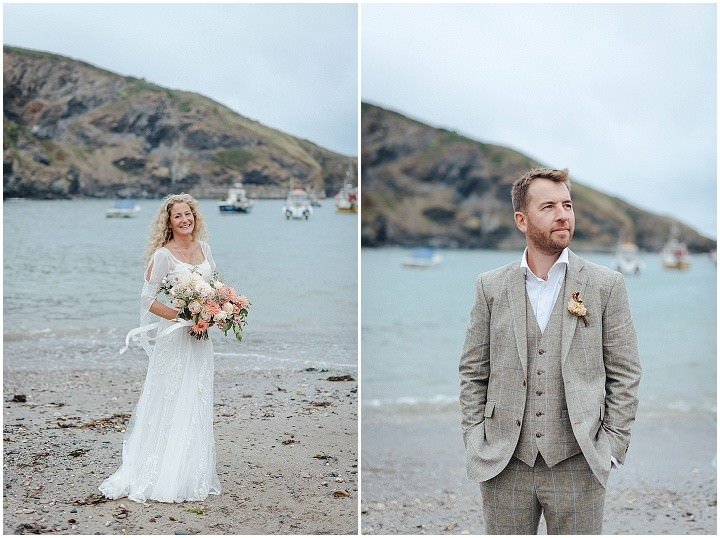 Cara and John's Cornish Tipi Woodland Elopement by Salt & Sea Photography