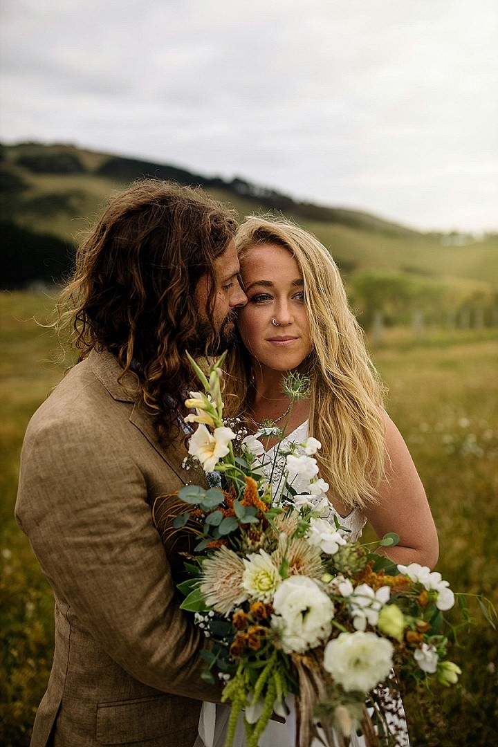 New Zealand Clifftop Sunset Wedding Inspiration