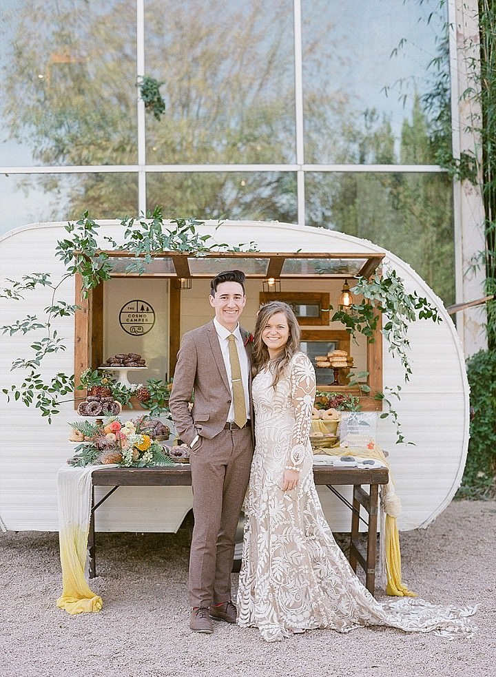 Hayleigh and 'Corey's Laid-Back, Cheerful, Full of Love' Bohemian-Inspired Brunch Wedding by Matthew Moore Photography