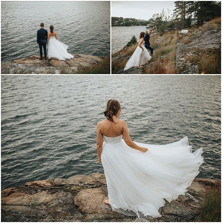 Marte and Petter's Laid Back, Barefoot Wedding on a Private Island By Loke Roos