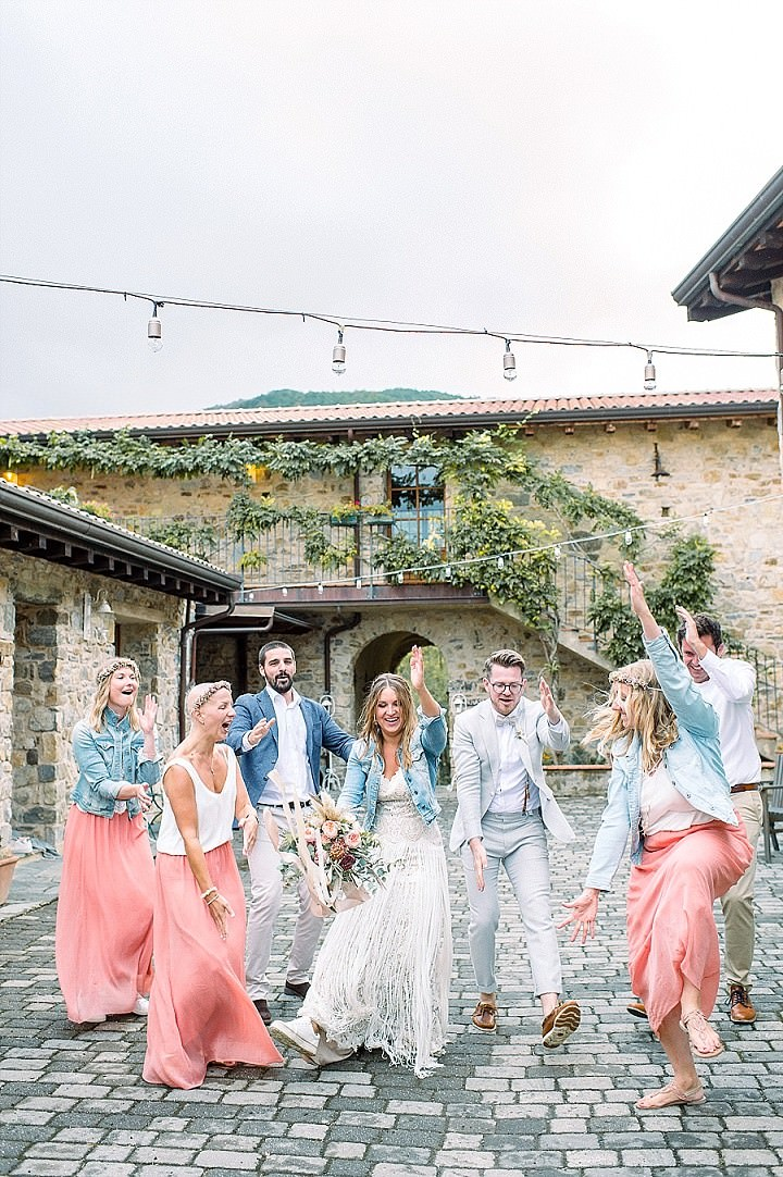 Anna and Alfred's Beautiful Bohemain Tuscany Wedding by Die Hochzeitsfotografen