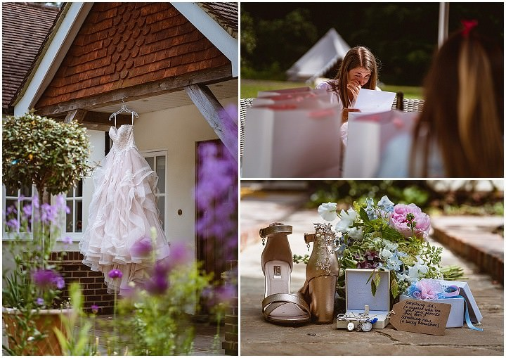 Sarah and William's 'English Country Garden' Wedding at Home by Joe Mallen Photography