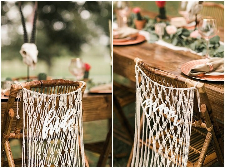 'One Wedding - 2 Couples' Modern Boho With a Southern Twist Wedding Inspiration