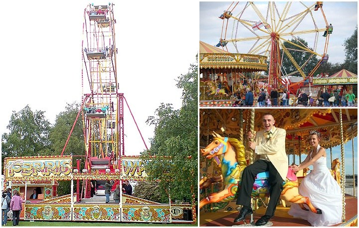 Funfair Rides for Weddings