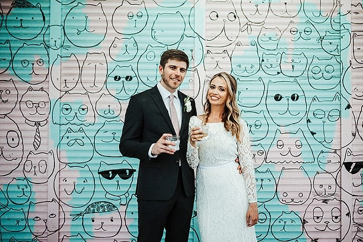 Allison and Sebastion's Modern Theatre Wedding in Florida by Ashley Izquierdo