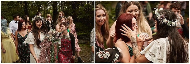Yannah and Leon's Fairy Tale Forest Wedding in a Druid Eco Village by Rich Paul Weddings