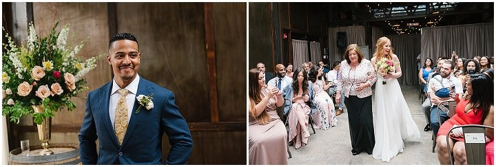 Rita and Joey's Laid Back and Stylish City Winery Wedding in Brooklyn by Everly Studios