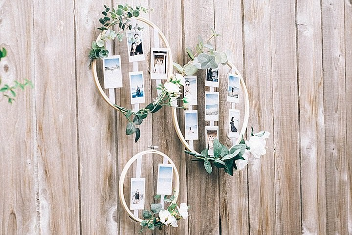 DIY Tutorial: Photo Display in Embroidery Hoops