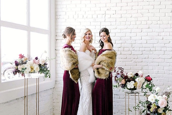 Revelry Launches Faux Fur Shrugs - Perfect For a Winter Wedding