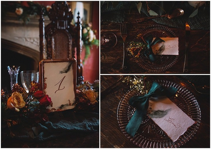 'Emerald Dreams' Dark and Beautiful Winter Wedding Inspiration