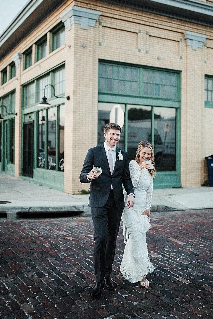 Allison and Sebastion's Modern Theatre Wedding in Florida by Ashley Izquierdo