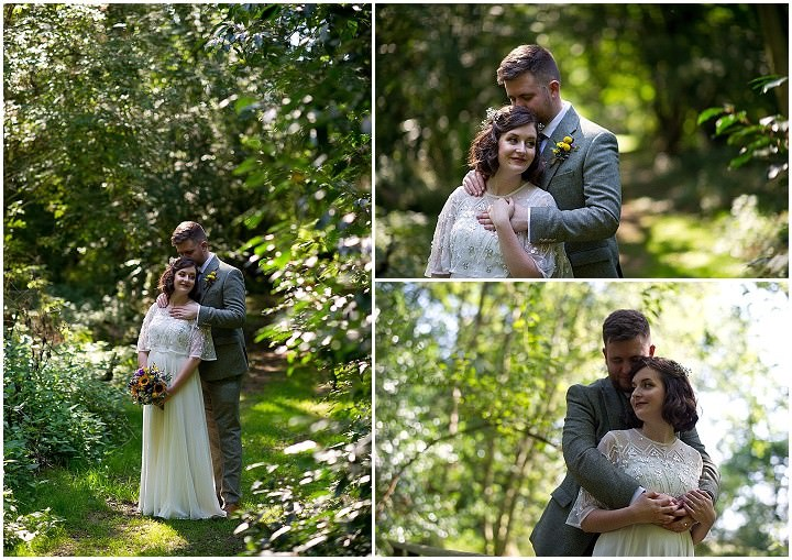 Hollie and Mike's Rustic and Relaxed Woodland Wedding by Nathan Walker Photography