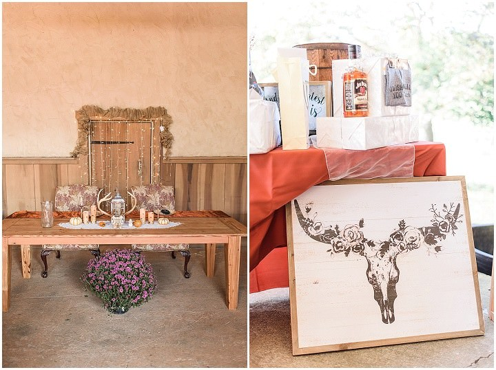 Chrissy and Patrick's Boho Inspired Farm Wedding With Dream Catchers and Macrame by Alisha Faith Photography