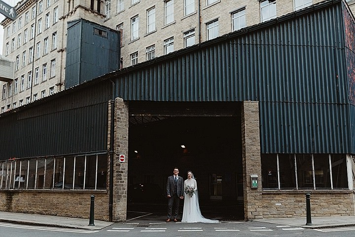 Fiona and Ben's Industrial Yorkshire Wedding with a Glastonbury Theme by Stevie Jay Photography