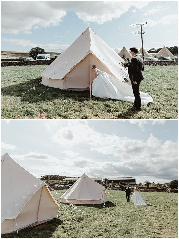 Emily and Luke's Rustic, Homemade, Tipi Wedding by Stevie Jay Photography