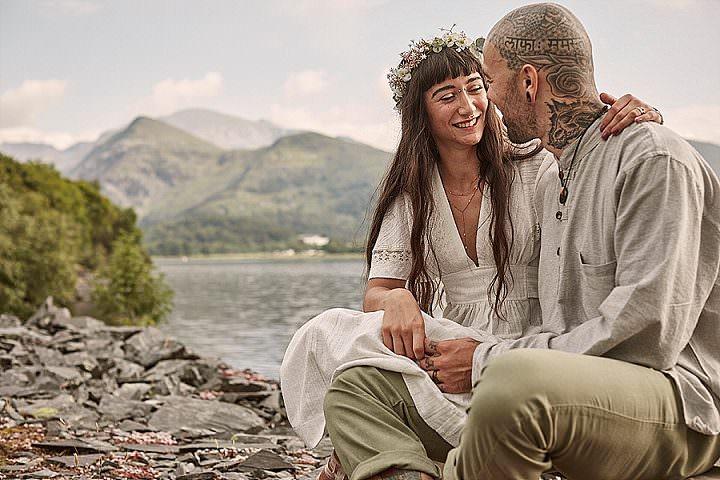 Yannah and Leon's Fairy Tale Forest Wedding in a Druid Eco Village by Rich Paul Weddings