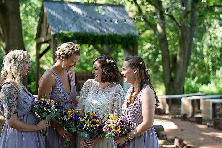 Hollie and Mike's Rustic and RelaxedWoodland Wedding by Nathan Walker Photography