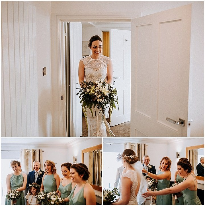 Anna and Richie's Flower Filled Spring Barn Wedding in Cumbria by Peter Hugo Photography