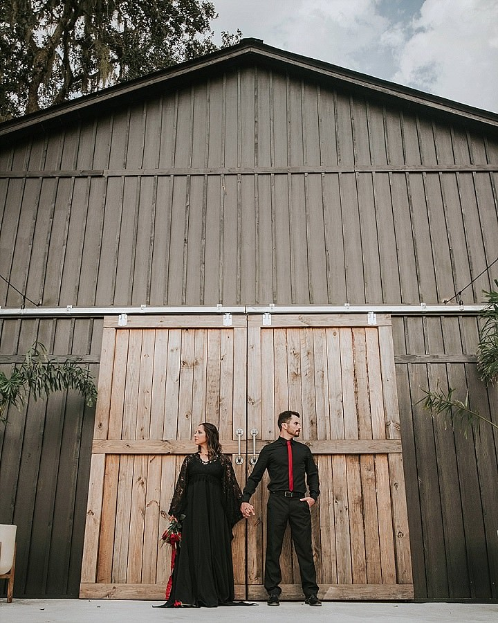 Spiders, Snakes and Smoke Machines - A Darkly Romantic Halloween Styled Wedding