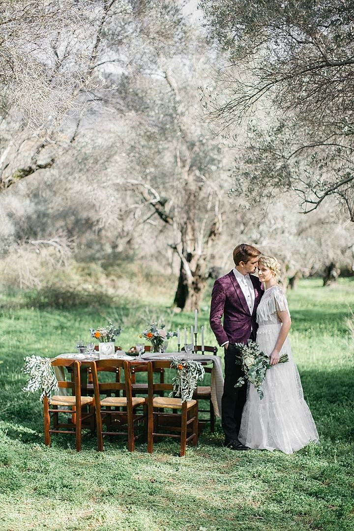 'Natural Beauty Wedding Inspiration' A Story of Love in Crete