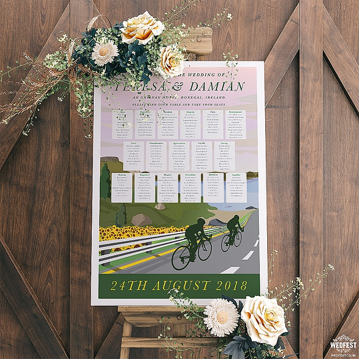 16-cycling-theme-wedding-table-plan