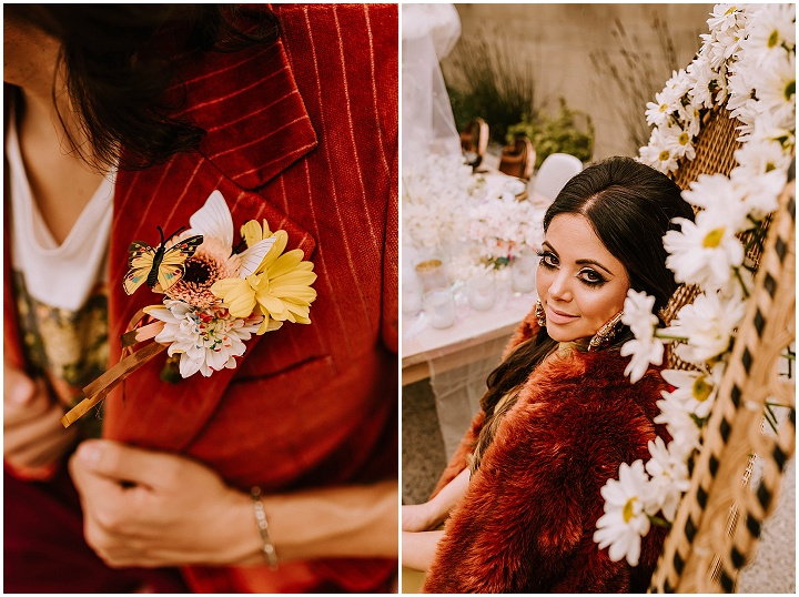 'Rock and Roll Meets Psychedelic' - 1970's Groovy Wedding Inspiration