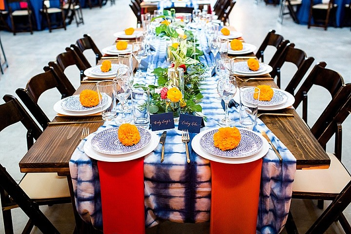 Lindsay and Andy's Colourful 'Rustic Luxury' Jewish Wedding in Texas by Cory Ryan Photography