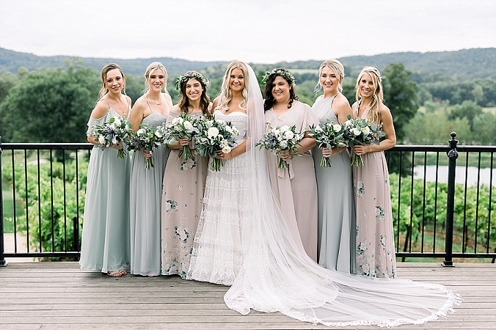 Chris and Gretta's 'Modern Boho' Earth Toned Vineyard Wedding by Zoe Life Photography