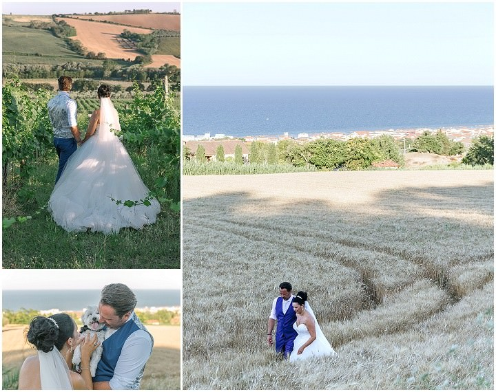 Davy and An's Fairy Tale Outdoor Wedding in Italy by Loving Marche and Kaba Photo