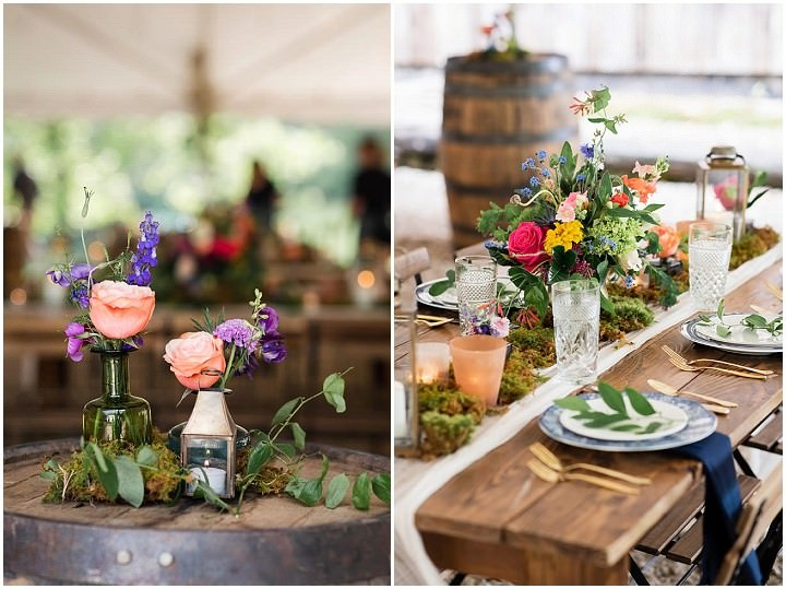 Jacquelyn and Danny's Flower Filled Mountain Wedding by Mandy Rhoden Photography