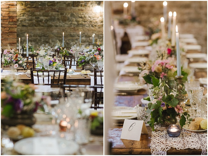 Fabio and Catia's Beautifully Romantic 'Rustic Vintage' Pink and Coral Italian Wedding by Francesca Francesca