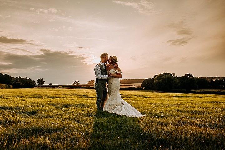 Alison and Jake's Travel Themed Rustic Barn Wedding in Yorkshire by M & G Photographic