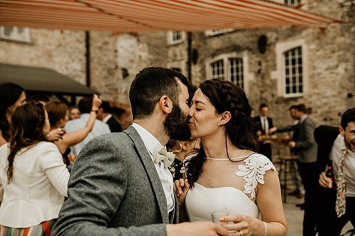 James and Victoria's Greenery Filled Rustic DIY Somerset Wedding by Chloe Mary Photography