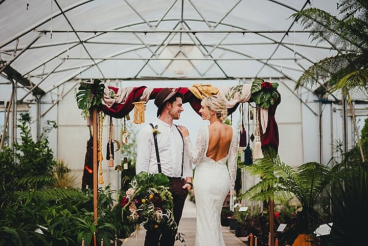 Botanical meets Geometric 'Modern Mohemia' Wedding Inspiration