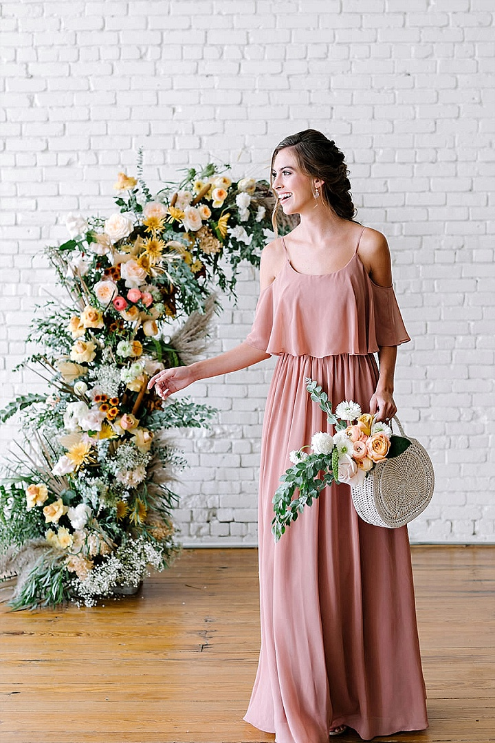 Revelry's New, Sedona-Inspired Bridesmaid Dress Collection - A Boho Bride's Dream Come True