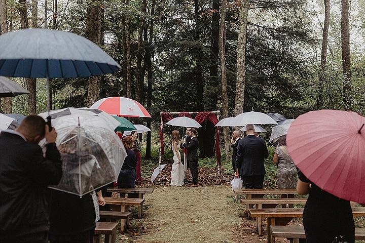 Renata and Brian's Rainy Day New York Barn Wedding by Nicole Nero Studio